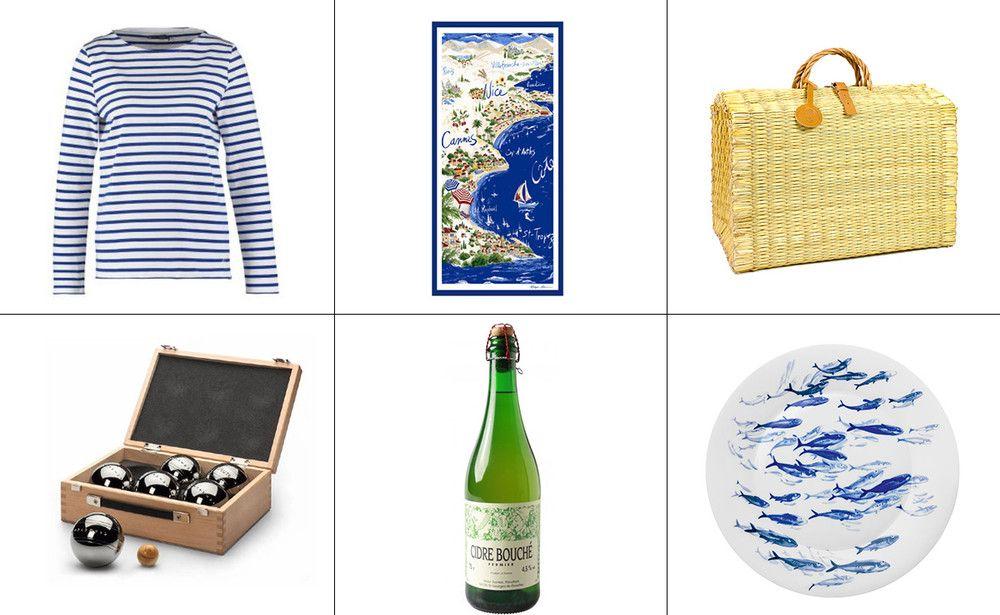 Ringelshirt, Bastkorb & Cidre - die schönsten Stücke für's Savoire vivre