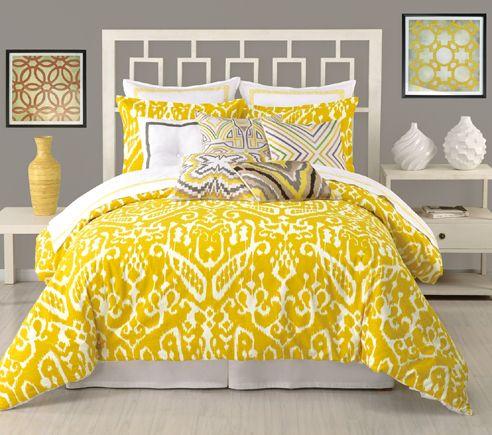 Ikat By Trina Turk Bedding Beddingsuperstore Com Home Bedroom Comforter Sets Yellow Bedding
