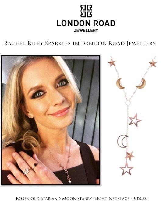 frumpy to funky: Rachel Riley wears London Road Jewellery