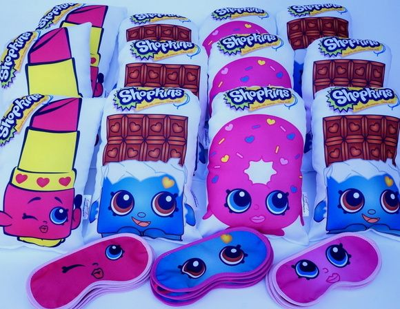 Zoom · kit festa do pijama unicornio mochila almofada mascara copo