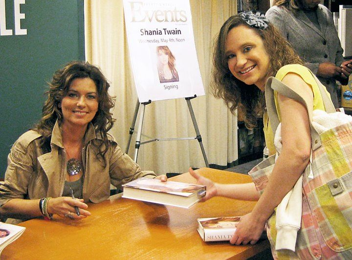 The day i got to meet her a book signing event at barnes noble the day i got to meet her a book signing event at barnes noble in manhattan for her autobiography shania twain from this moment on m4hsunfo