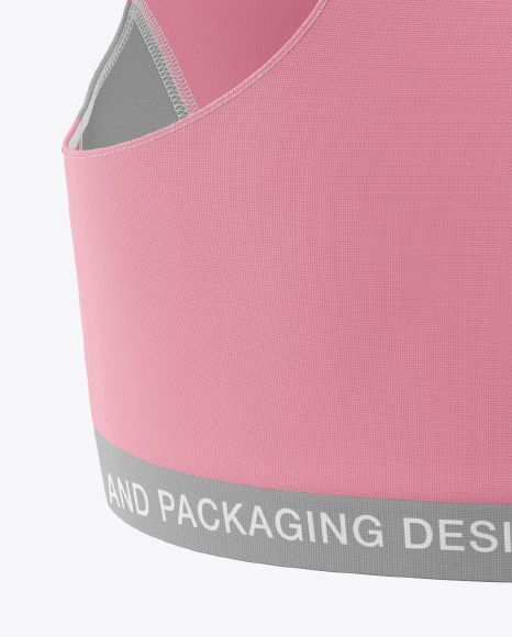 Women's Fitness Kit Mockup - Back View. Present your design on this mockup. Includes special layers...