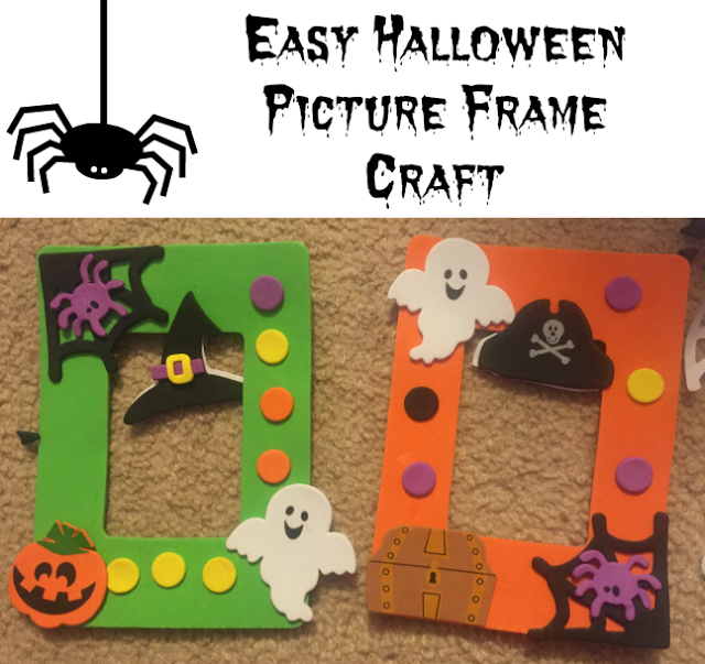 Easy Halloween Picture Frame Craft Thanks To Orientaltrading Ad