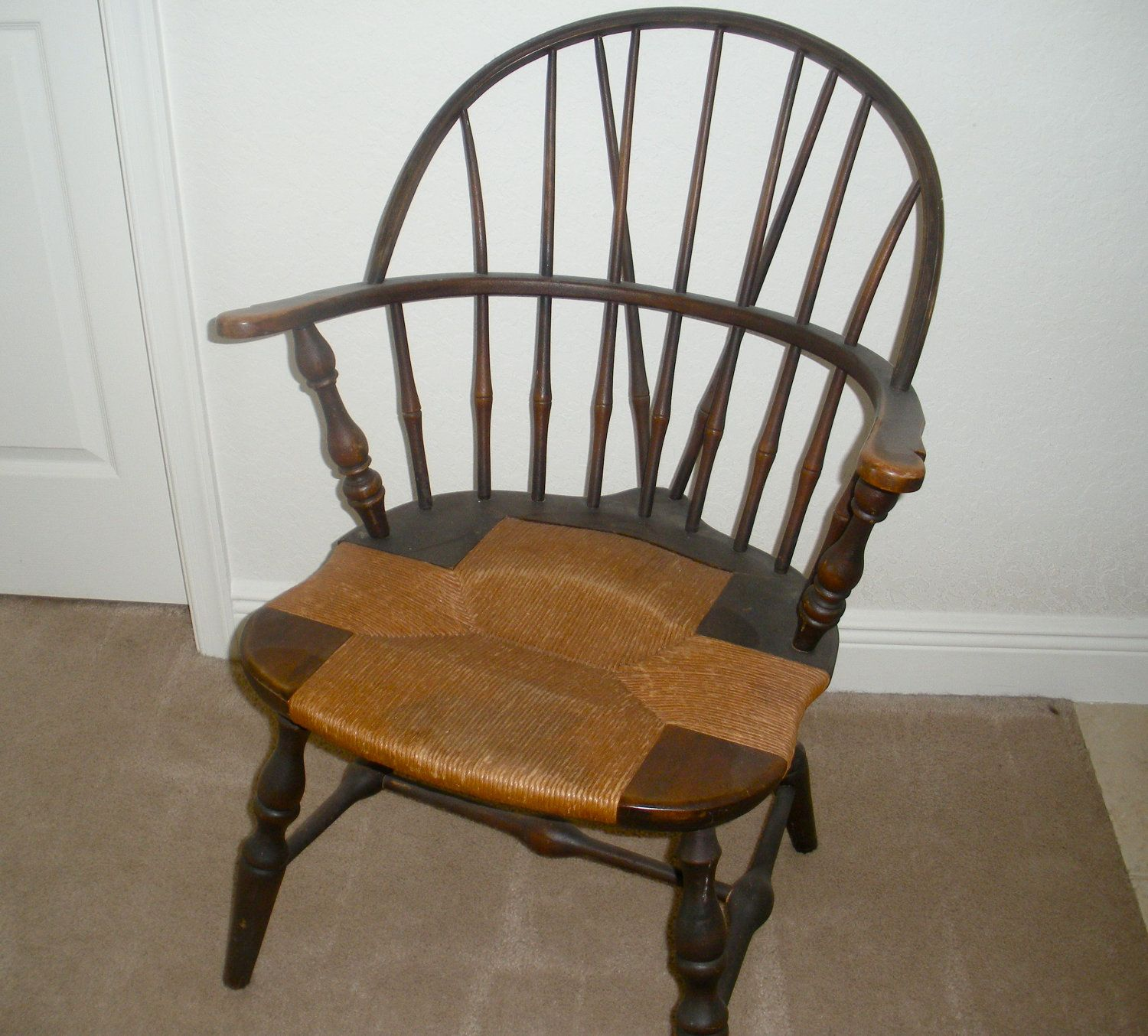 antique windsor office chair - Office chairs that are best offer the best  style as well as comfort. They should ideally matc - Rush Seat Windsor Windsor Pinterest Windsor F.C.