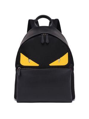 FENDI Monster Backpack.  fendi  bags  polyester  backpacks    02b9cadf27a7f