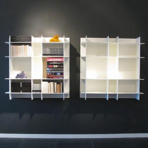 Poliform kast Sketch hangend mat lak wit | Kasten - maatkast ...