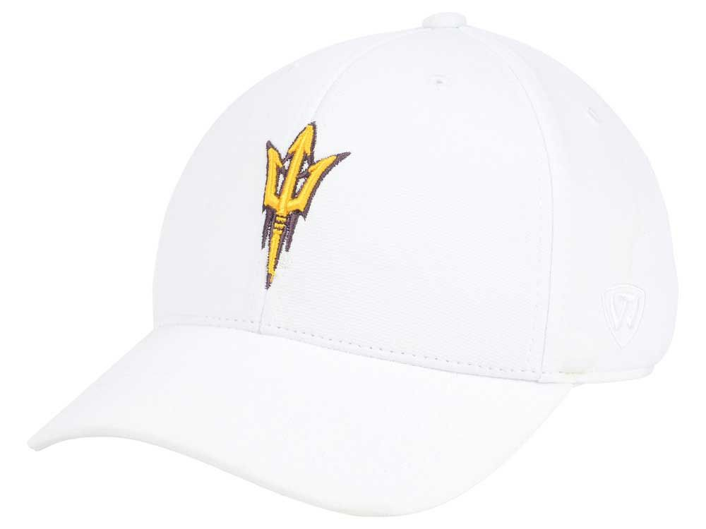 the best attitude 5b5bb a06d4 Arizona State Sun Devils Top of the World NCAA Coolon Stretch Cap