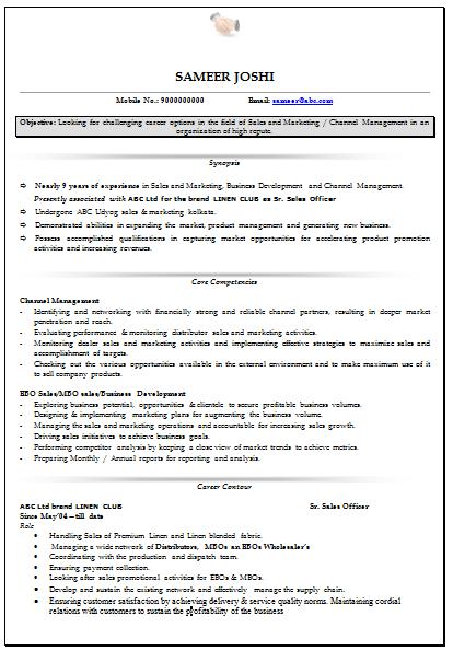marketing resumes samples professional curriculum vitae resume template for all job - Marketing Curriculum Vitae