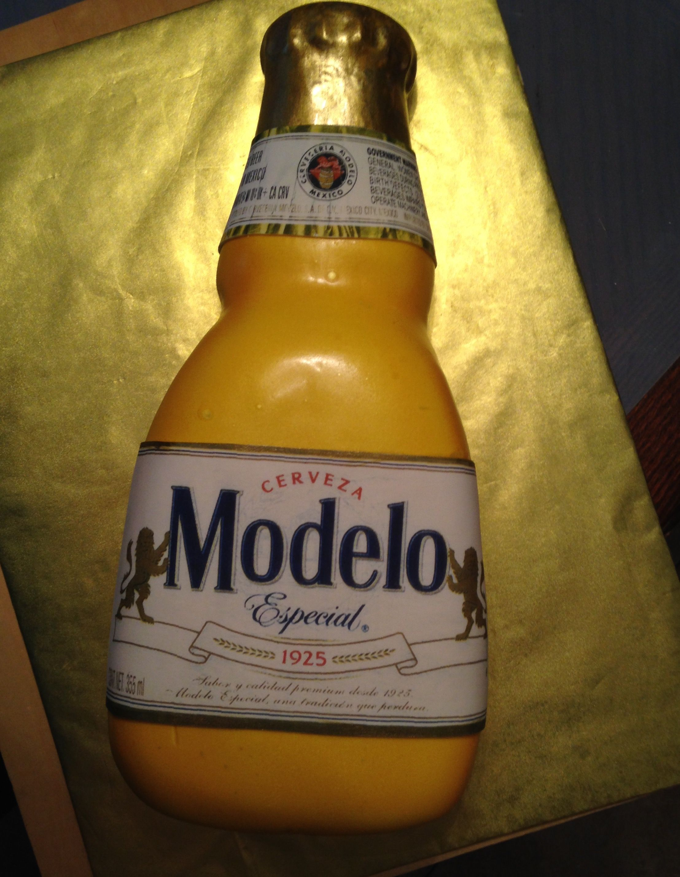 Modelo Beer Bottle Cake Cakes I Ve Done In 2019 25th