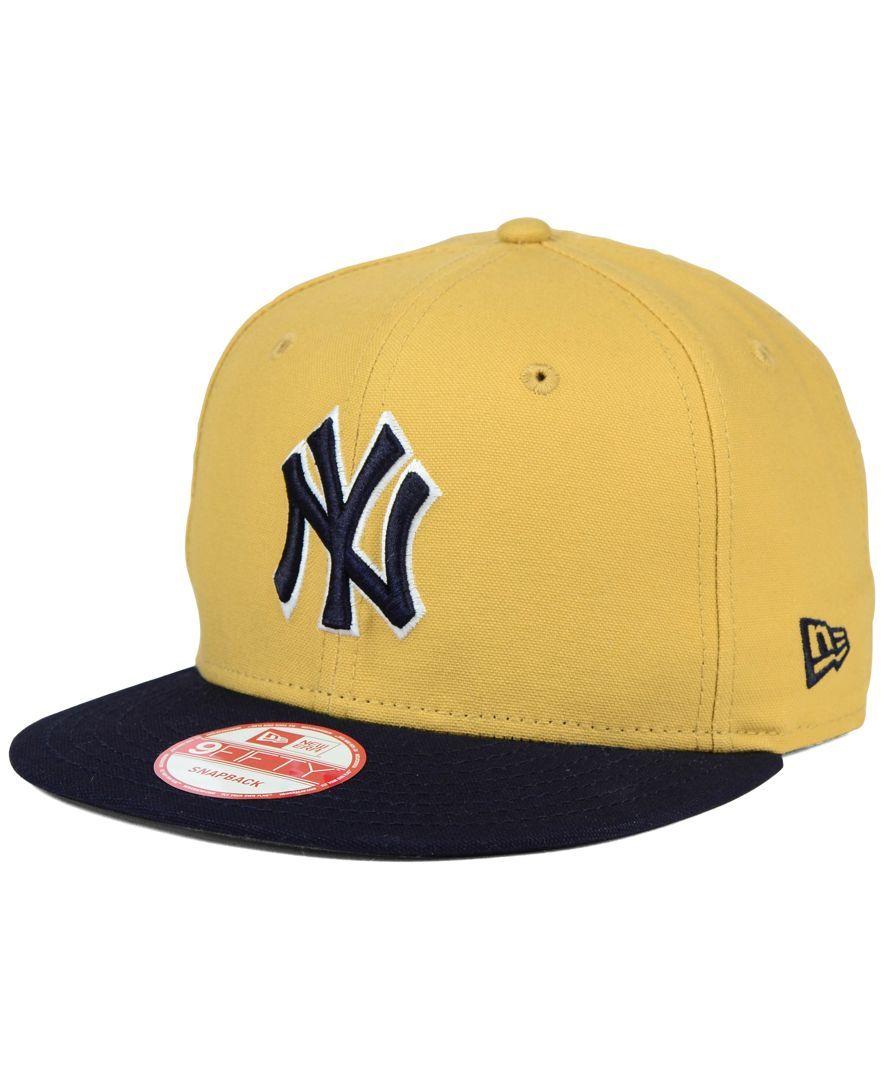 New Era New York Yankees Classic Canvas 9FIFTY Snapback Cap