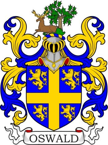 Oswald Family Crest and Coat of Arms | coadb | Coat of arms