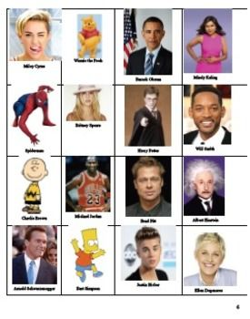 Guess The Celebrity Spanish Version French Vocabulary Foreign Language Learning Celebrities