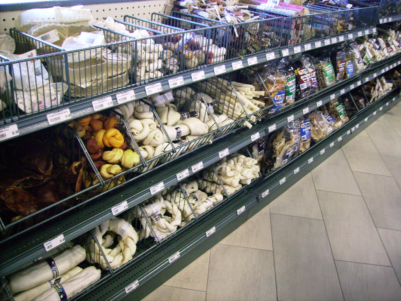 Gondola Shelving Accessories for Pet Stores!   Pet Store Shelving ...