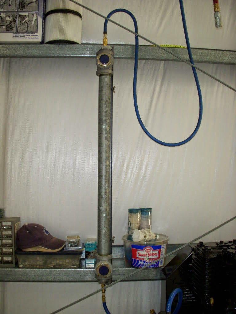 Diy Cheap Desiccant Filter Compressed Air Compressed