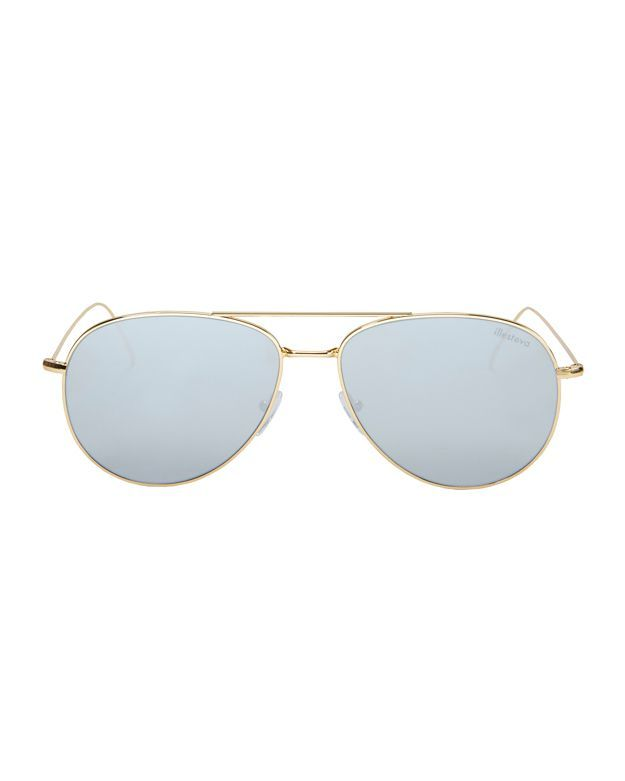 05c4dba991d ILLESTEVA Linate Aviator Sunglasses.  illesteva  sunglasses ...