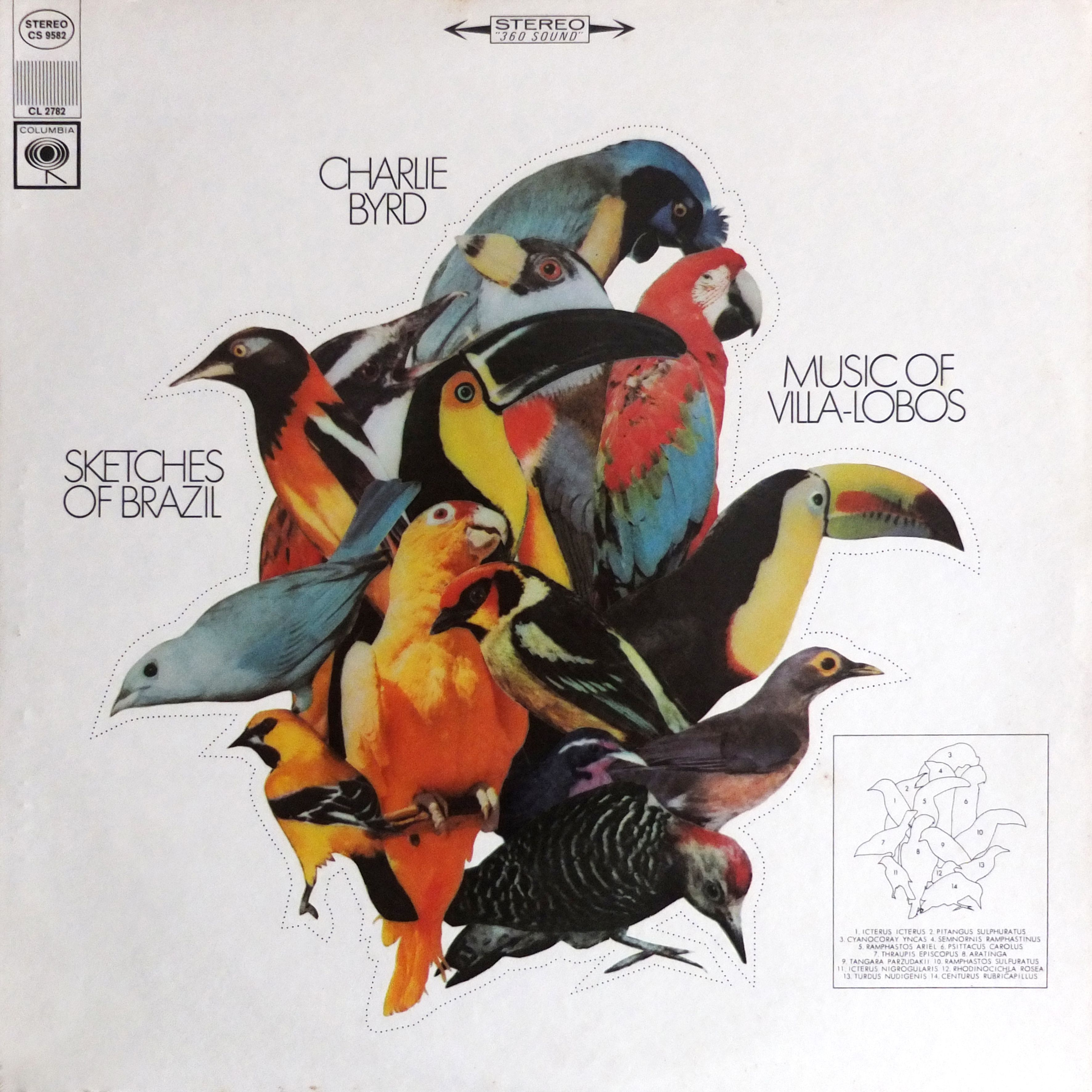 Charlie Bird Sketches Of Brazil