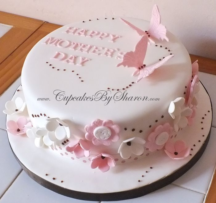 Fondant Mothers Day Cake Ideas The Cake Boutique