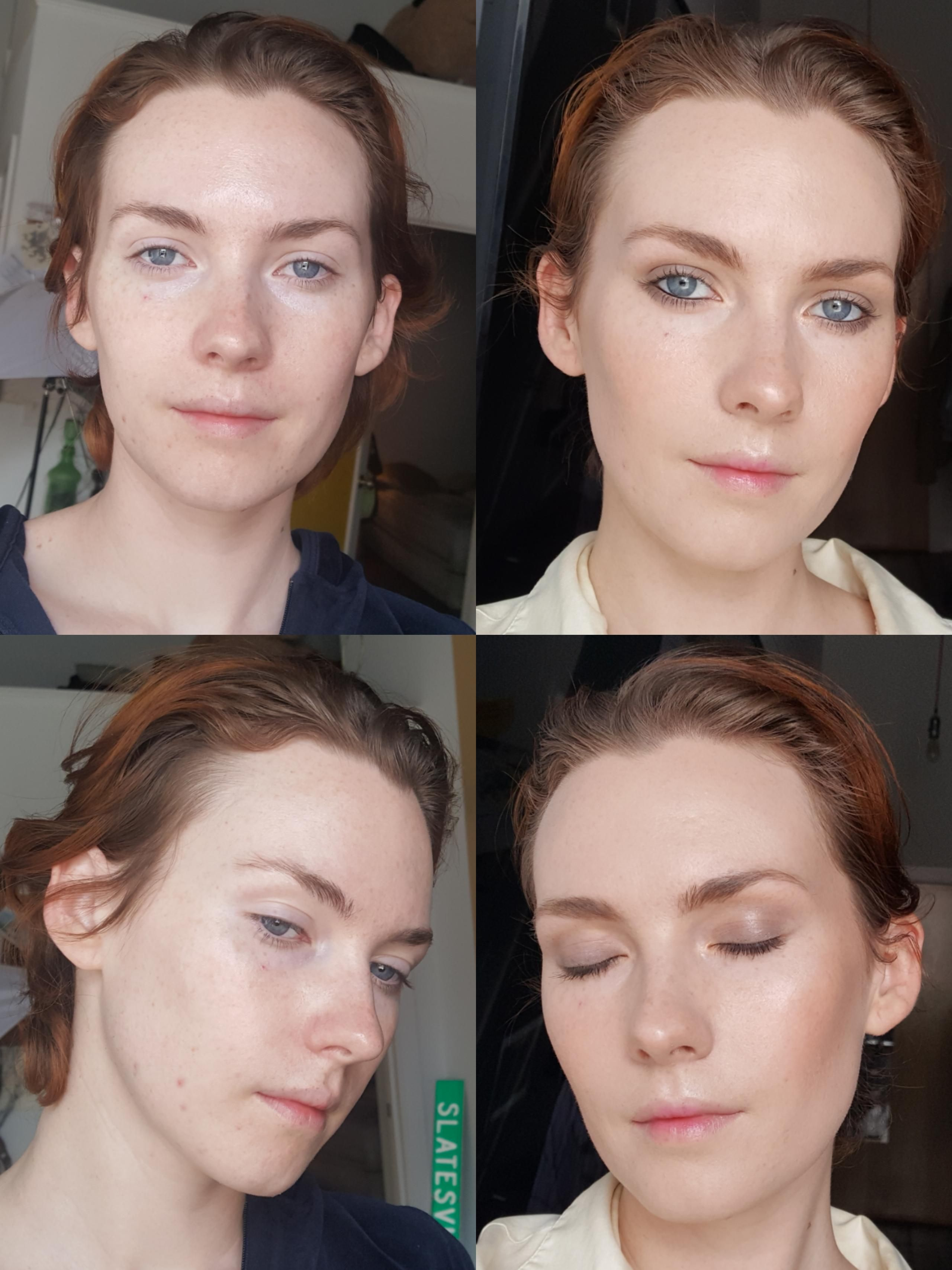 My Requested Before After From Sleepy Eyes To Smokey Eyes
