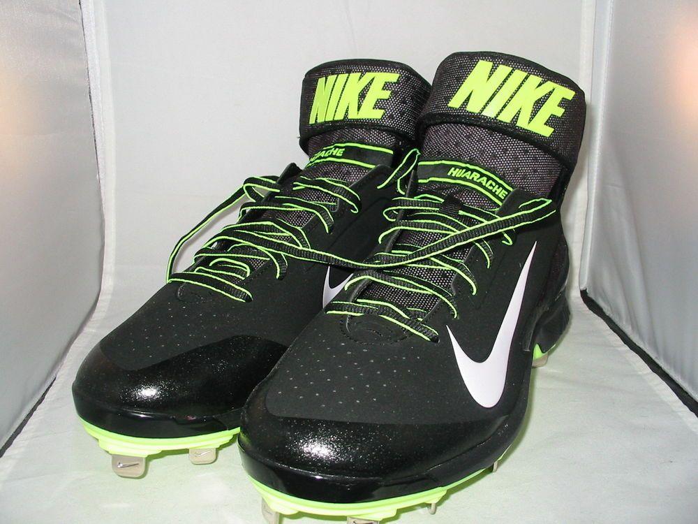 neon nike tennis shoes baseball shoes