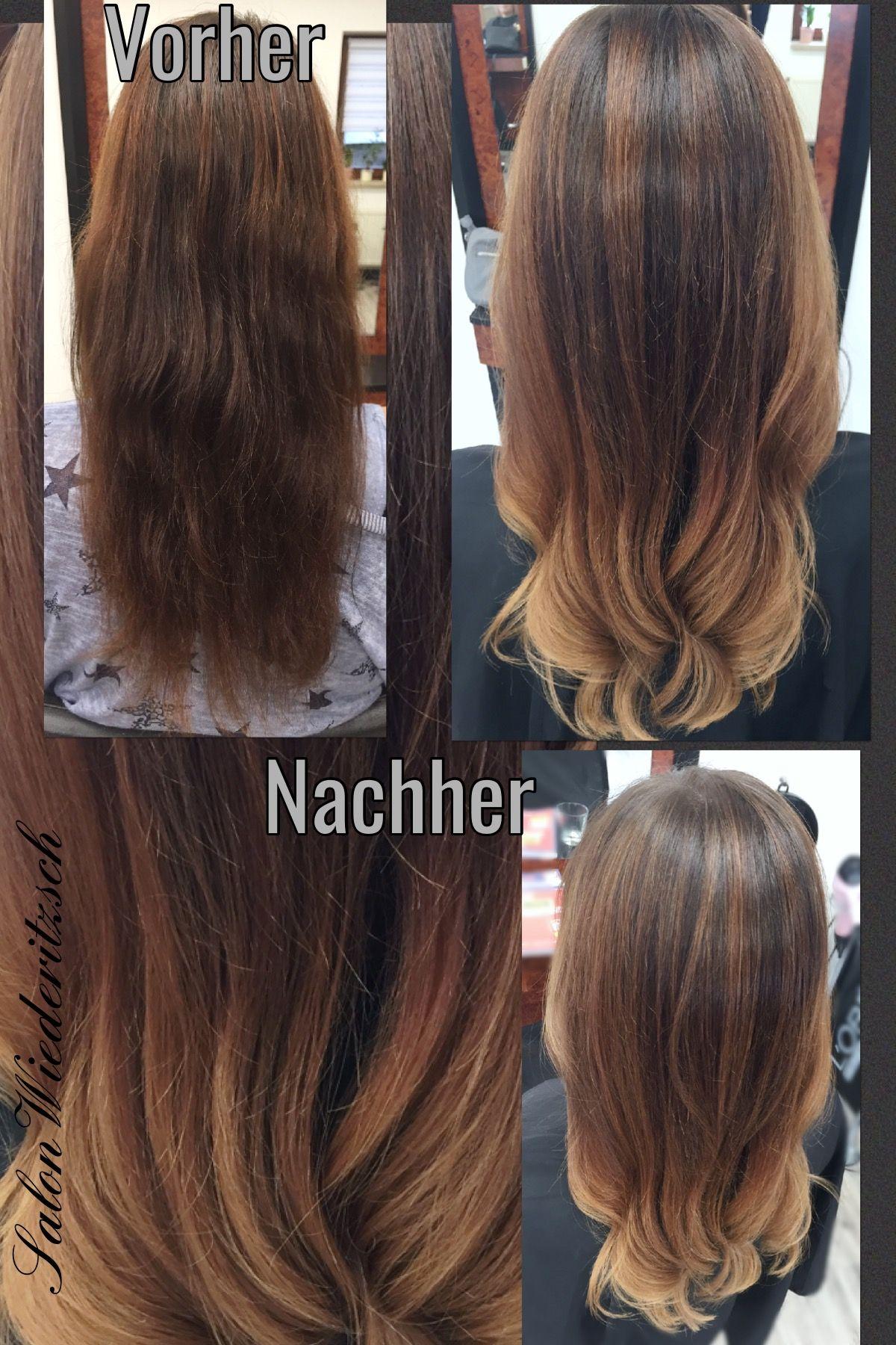 Balayage Longhair Langes Haar Sombré Ombré Blond blonde ...