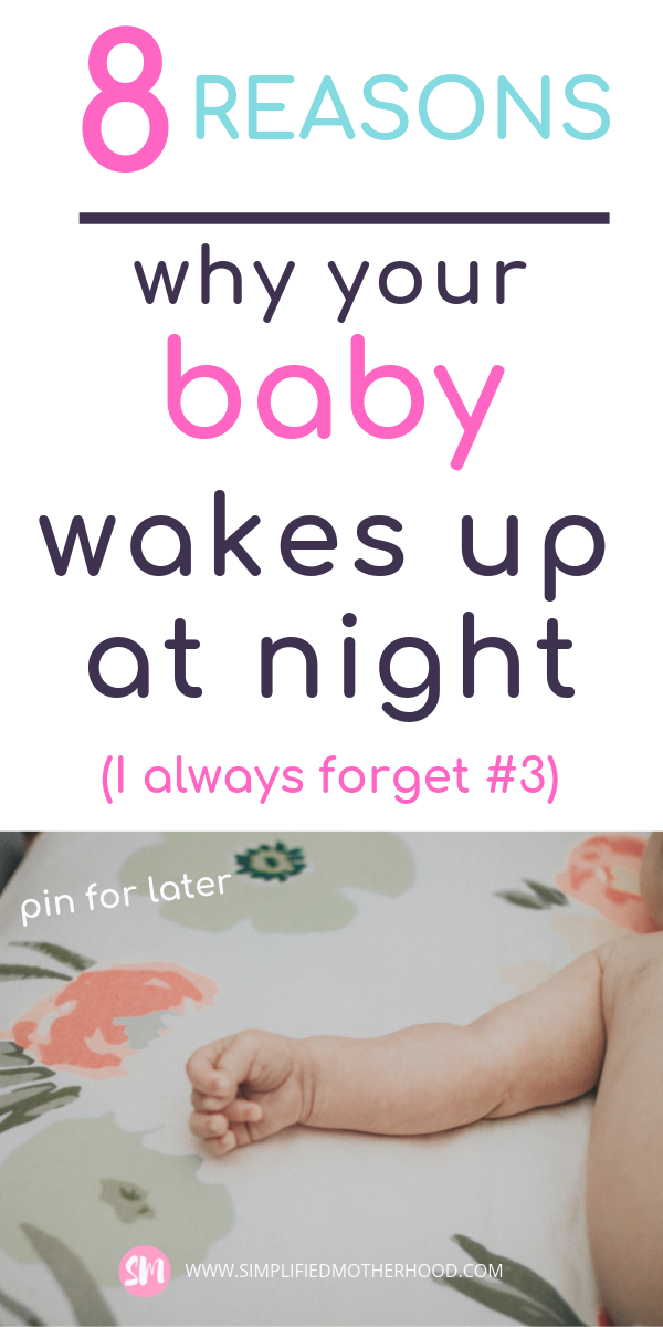Why your baby keeps waking up at night | Baby sleeping ...