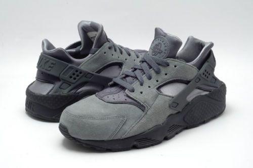 nike air huarache classic sneakers new cool grey 318429-082
