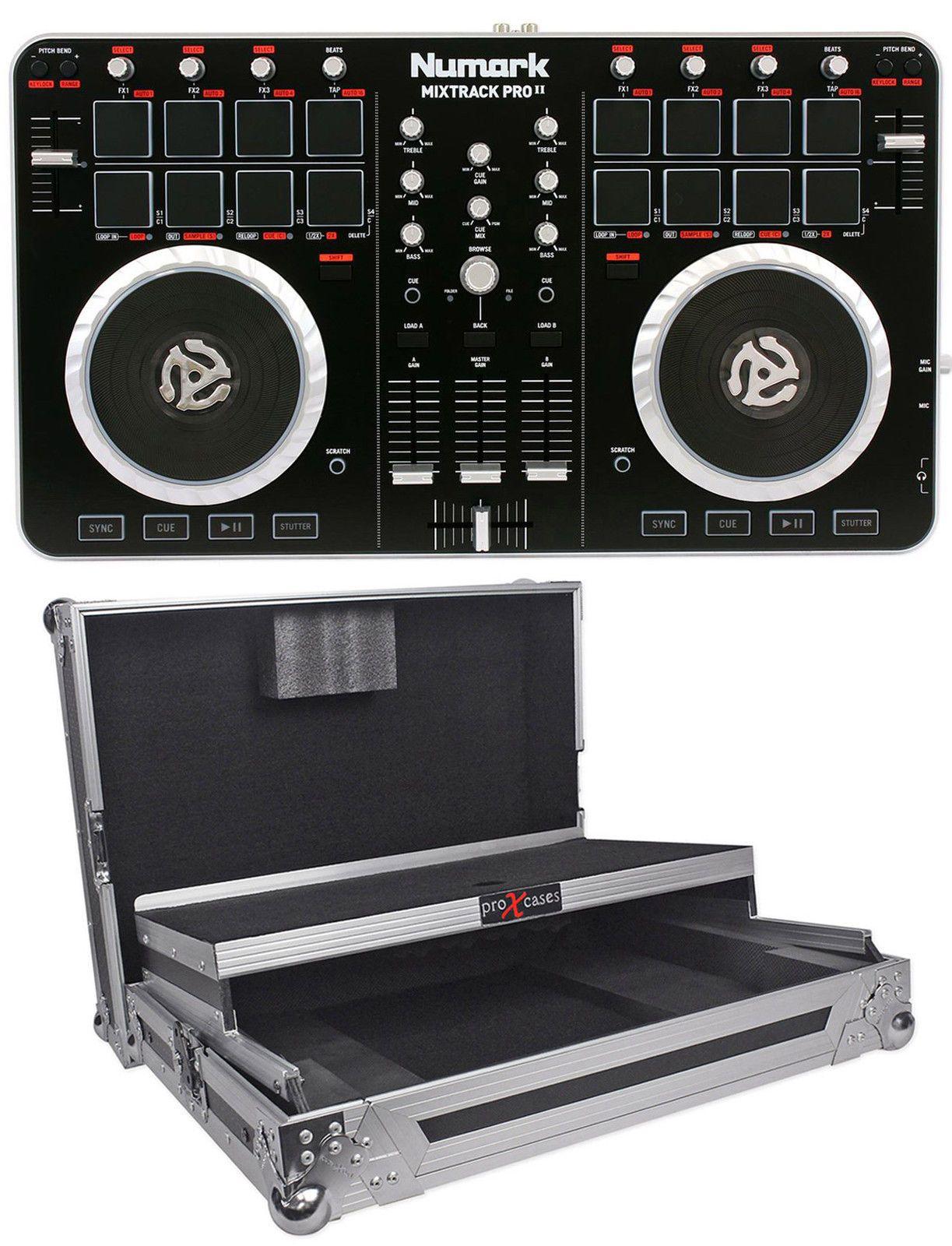Numark Mixtrack Pro Ii 2 Midi Usb Dj Controller Audio Dj Equipment Usb Audio