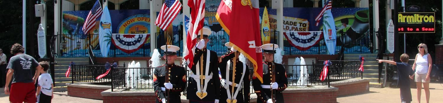Military Appreciation Days At Six Flags Over Georgia September 20 And 21 During This Weekend There Military Appreciation Military Discounts Retired Military