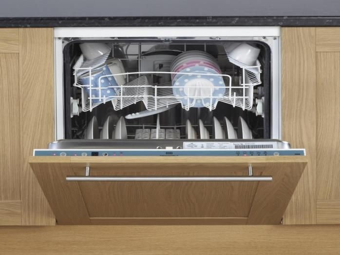 New World Nwdw60 60cm Integrated Dishwasher Integrated Dishwasher Dishwasher White Fully Integrated Dishwasher
