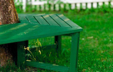 Byg Din Egen Havebænk Med Billeder Havebænk Haveideer