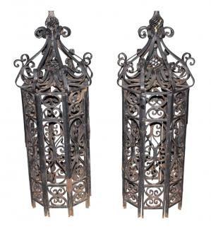 Antique Cast Iron Newel Posts Antique Cast Iron Architectural Antiques Antiques