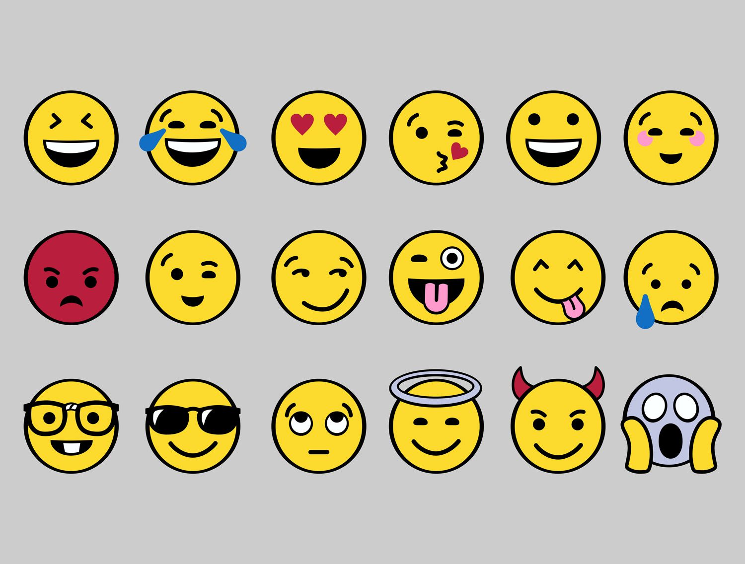 Emoji Clipart for shirts Halloween group