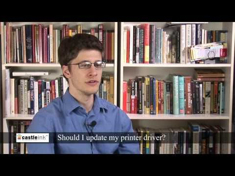 Printer drivers - when should you update your printer driver?
