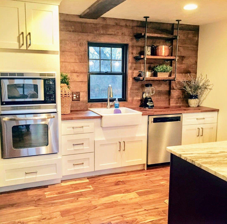 open kitchen shelving urban industrial floating shelves on floating shelves kitchen id=28877