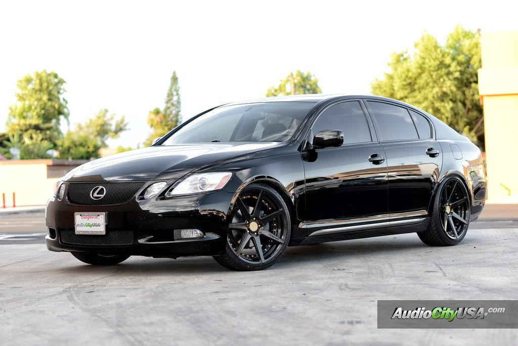Photo 2 Lexus Gs 300 Custom Wheels Vertini Dynasty 20x8 5 Et Tire Size 245 30 R20 20x10 275