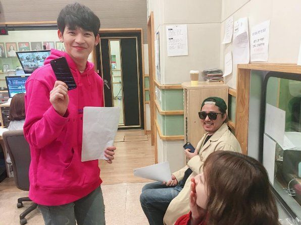 [IG] 161026 UP10TION KUHN -  KBS COOL FM https://www.instagram.com/p/BMAzZ5_g0io/ #UP10TION #업텐션 #KUHN  #쿤 #노수일