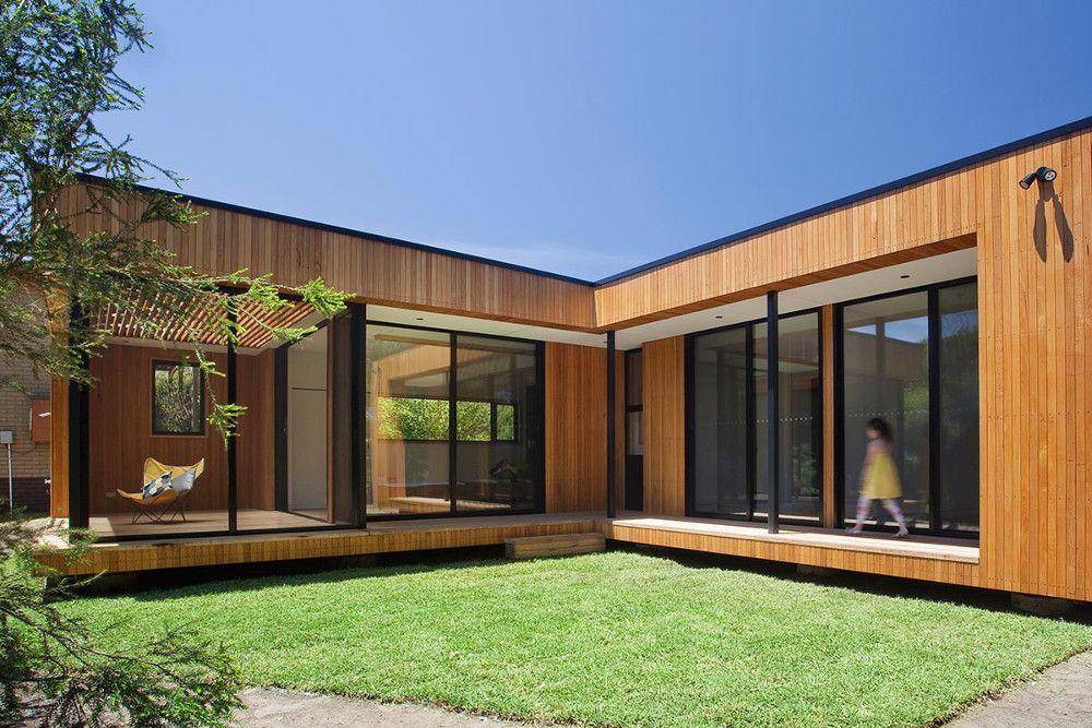 Casa prefabricada moderna con ventanales grandes casas - Busco casa prefabricada ...