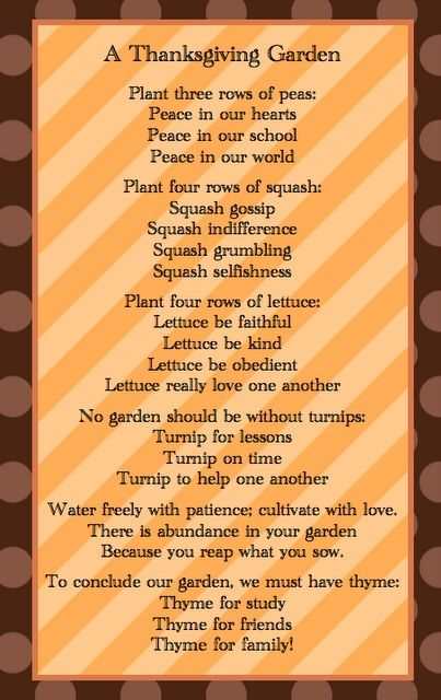 thanksgiving poems for church - Google Search | Art ...