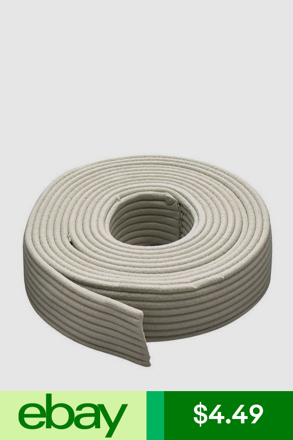 M D Building Products 71522 Replaceable Cord Weatherstrip 30 Gray M D Building Products Door Weather Stripping Window Seal
