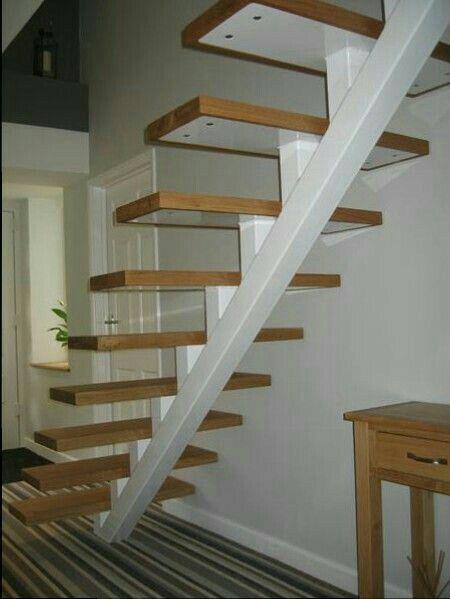 Лестницы Escalera Pinterest Escalera, Escaleras voladas y Volar - Diseo De Escaleras Interiores