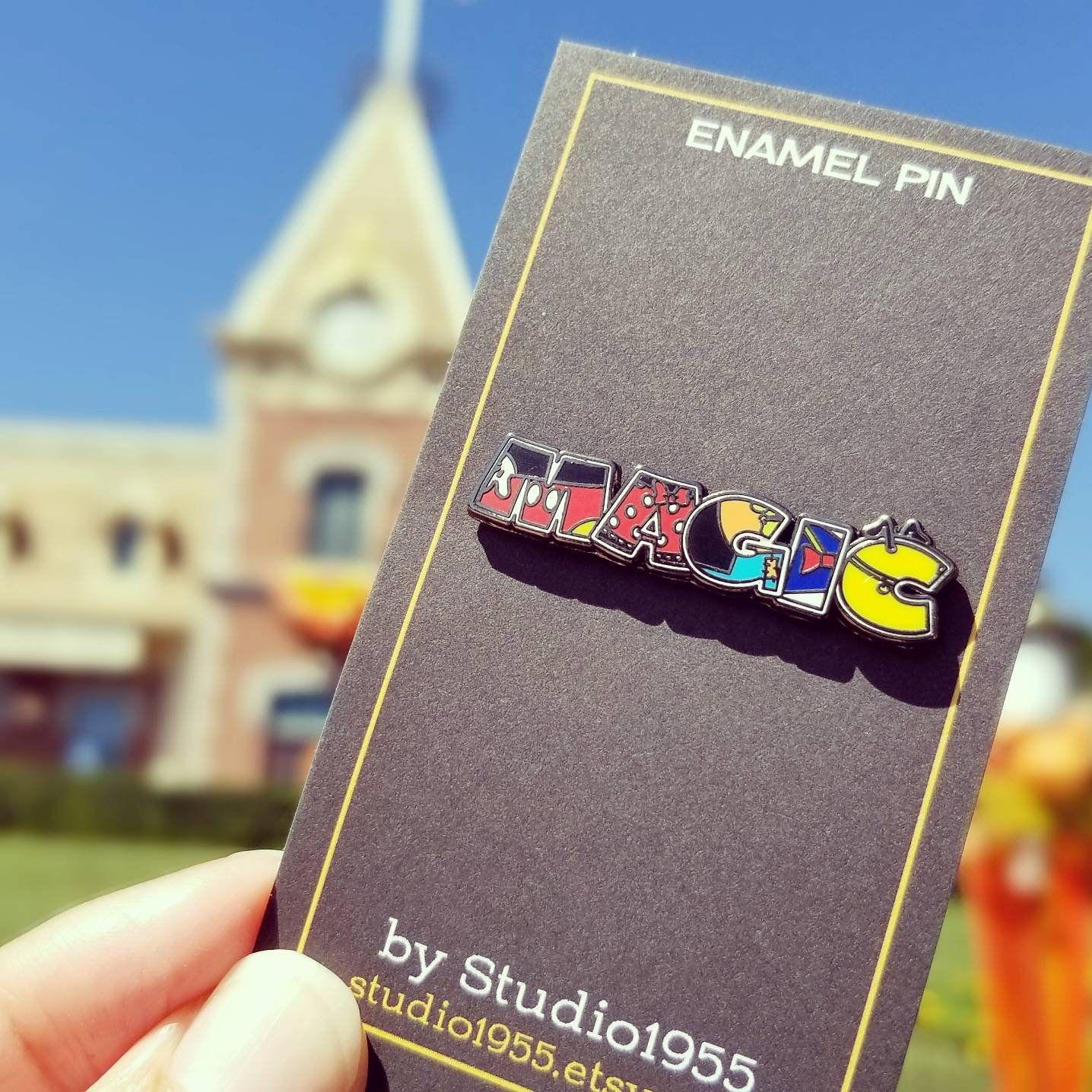 MAGIC pin // Fab Five // hard enamel pin // Disney pin