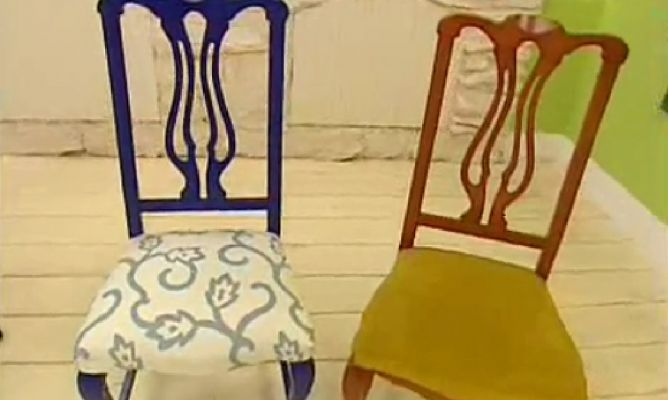 renovar y tapizar sillas de madera upholstery ideas