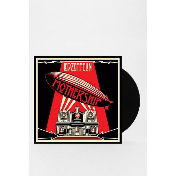Led Zeppelin - Mothership 4XLP ($60) ❤ liked on Polyvore featuring assorted