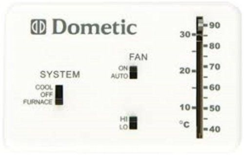 Dometic 3106995 032 Analog Thermostat Cool Only Furnace Thermostat New Thermostat Rv