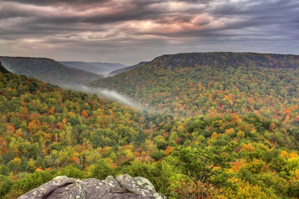 Buzzard's Roost Fall Creek Falls State Park Tennessee [OC] [5183 x 3455] http://ift.tt/1LOcUqU @tachyeonz