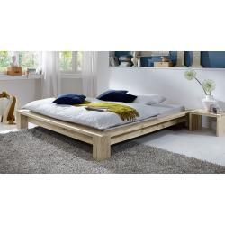 Futonbett Massivholzbett Kiefer Vollholz Massiv Nussfarben A10 Inkl Lattenrost Master Bedroom Furniture Bedroom Furniture