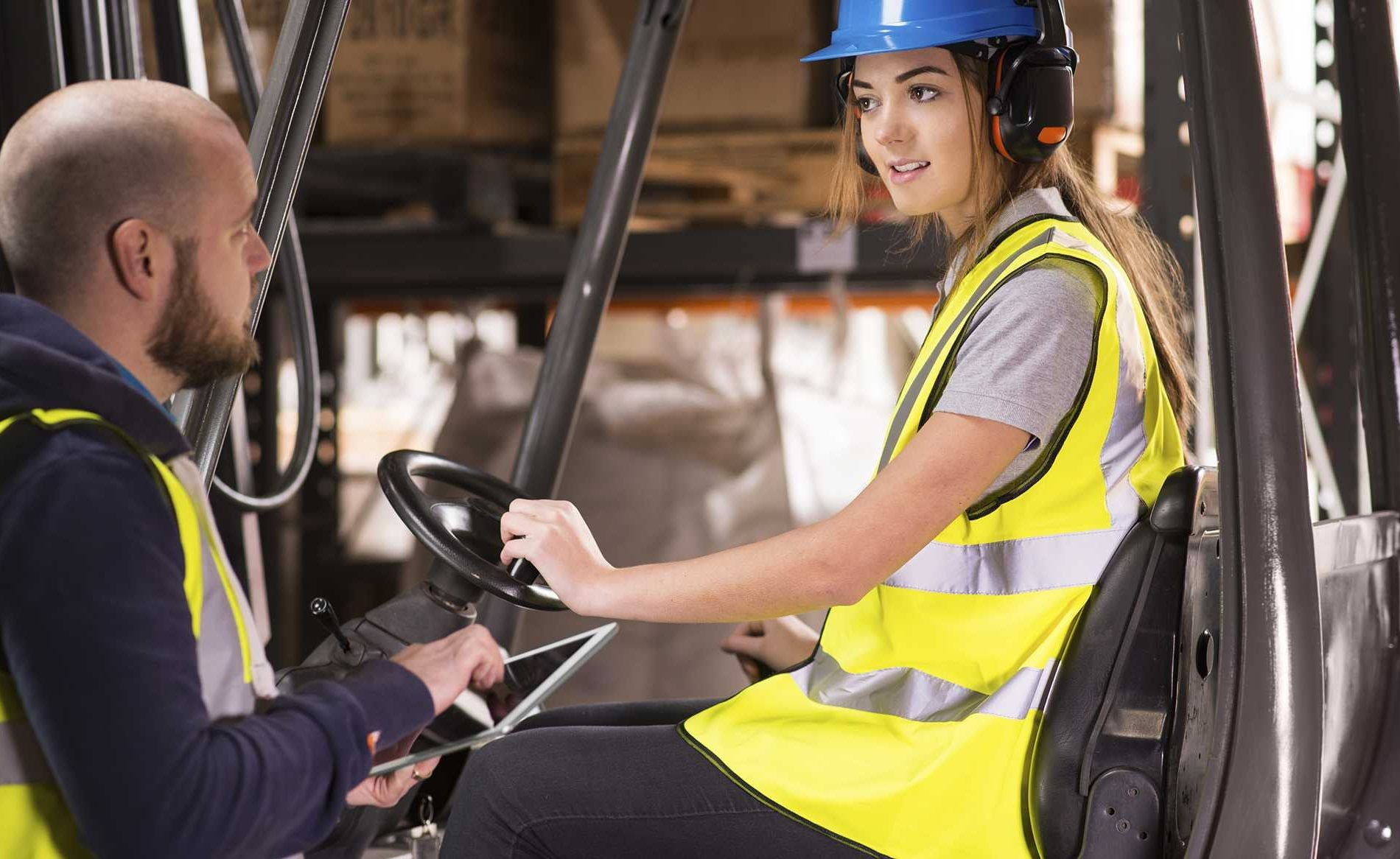 As per osha guidelines all forklift operators are