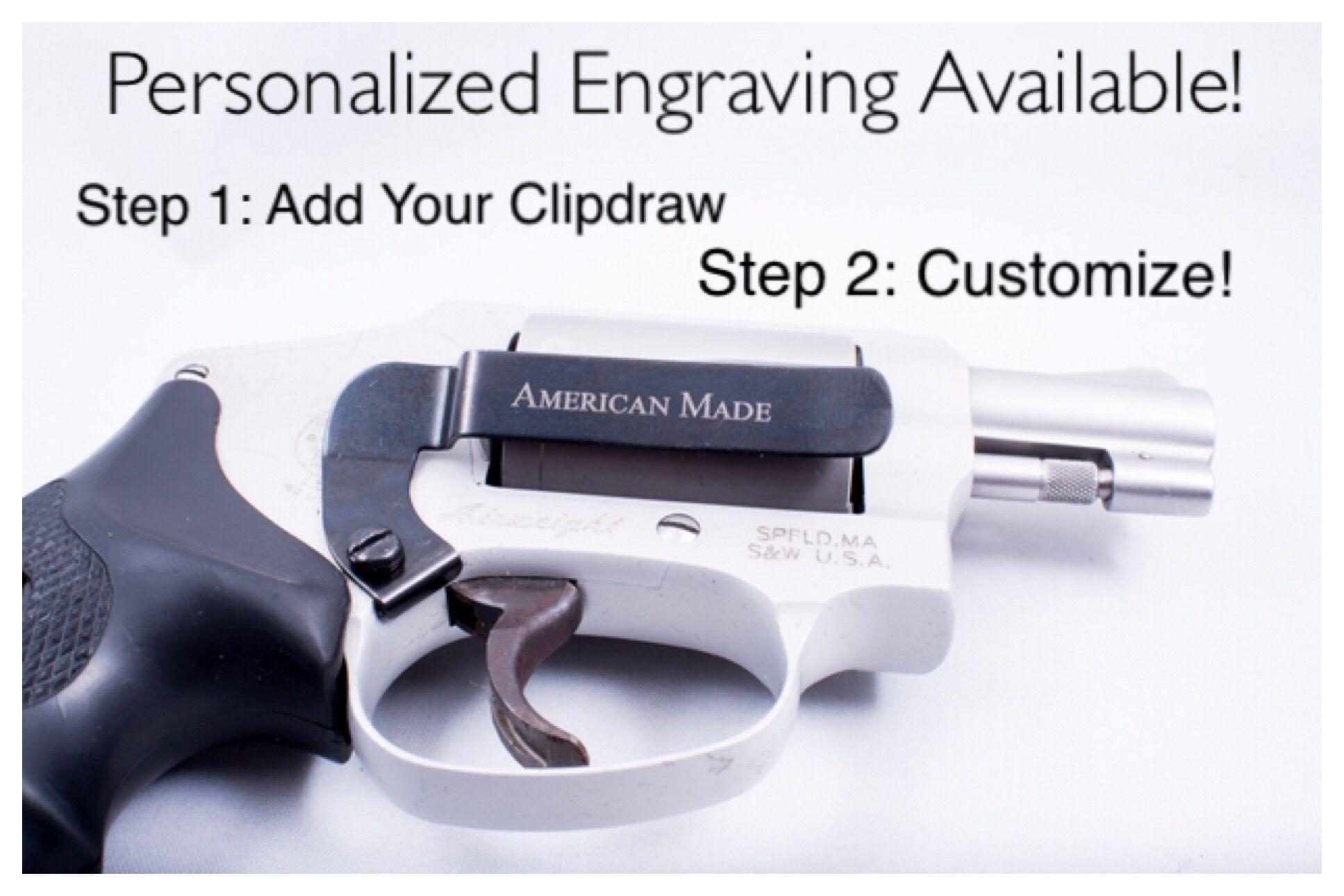 Smith & Wesson (S&W) J-Frame Holster Alternative IWB Clip | Guns ...