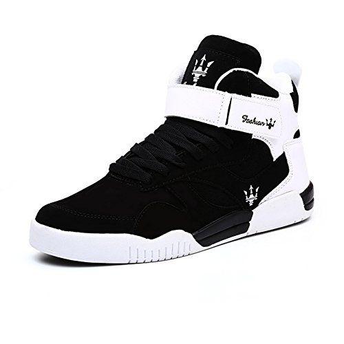 7b0de7a9dfb29 Leader Show Tm Mens Autumn Winter Casual Fashion Sneakers High Top ...