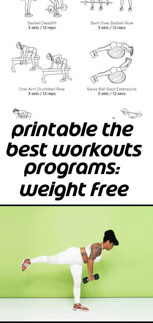 Printable the best workouts programs: weight free total workout #dumbbellexercises PRINTABLE The Best Workouts Programs: Weight Free Total Workout 7 Dumbbell Exercises That Work Your Core | SELF @madalingiorgetta home abs workout - #Abs #Home #madalingiorgetta #Workout #dumbbellexercises